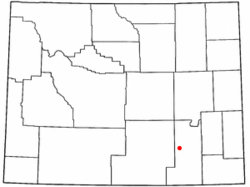 Location of Rock River, Wyoming