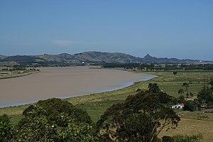 Wairoa River (Northland) - Wairoa River near Dargaville