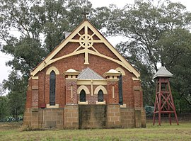 Wallabadah church