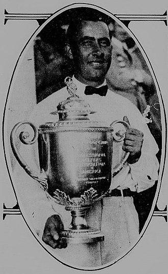 Walter Hagen - 1921 PGA Champion