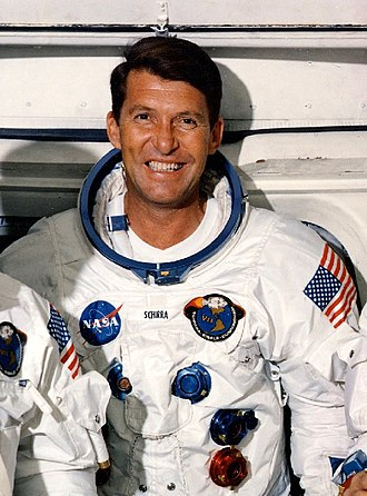 Wally Schirra - Schirra as the Commander of Apollo 7 crew (1968)