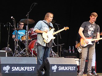 Smukfest - Image: Walter Trout and sons, Smukfest 2016
