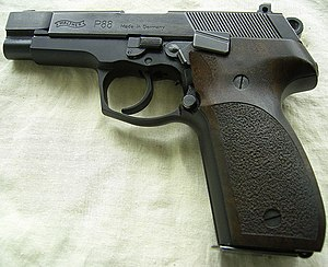 pistolet walther p88