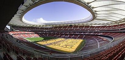 Cómo llegar a Estadio Wanda Metropolitano en transporte público - Sobre el lugar