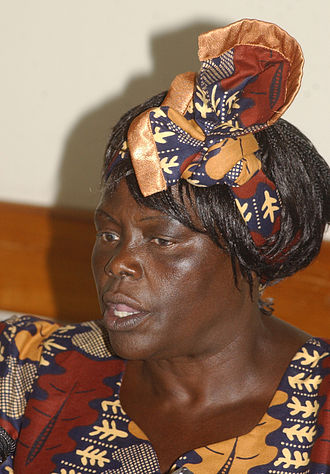 Federation of Green Parties of Africa - Wangari Maathai.