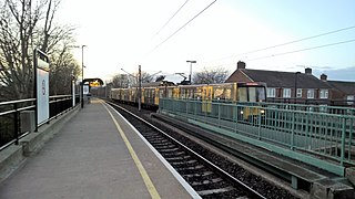 Wansbeck Road Metro station Tyne and Wear Metro station in Newcastle upon Tyne