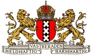 Wapen van Amsterdam bewerkt