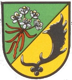 Halvesbostel - Image: Wappen Halvesbostel