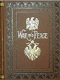 The trophy of the Tolstoy Cup is a framed copy of War and Peace.