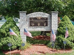Foster Township, Schuylkill County, Pennsylvania - Image: War Memorial in Foster Twp, Schuylkill Co PA