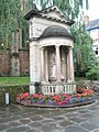 War memorial outside St Andrew's Wellington Square - geograph.org.uk - 936739.jpg