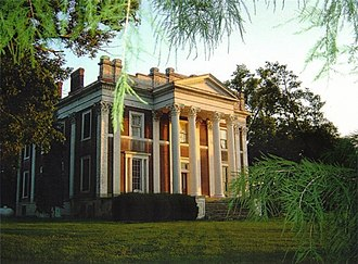 Georgetown, Kentucky - Ward Hall, a Greek Revival landmark