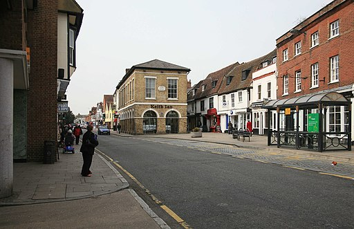 Ware High Street - geograph.org.uk - 1760826