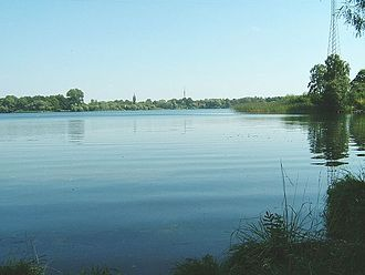 Waren (Müritz) - View across the Tiefwarensee