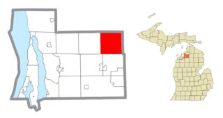 Warner Township, Michigan Civil township in Michigan, United States