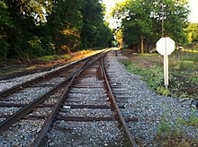 Warsaw, NC May 2014 , I like how the stop sign faces trackside approach. - panoramio.jpg