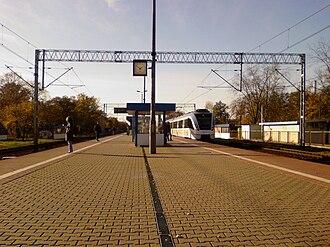 Warszawa Rembertów railway station - Image: Warszawa Rembertów (stacja kolejowa)