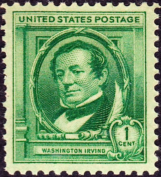 Washington Irving2 1940 Issue-1c