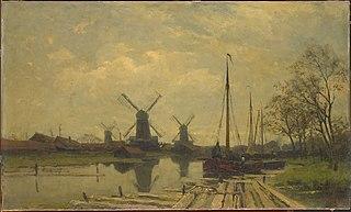 Wetering bij de Baarsjes bij Amsterdam
