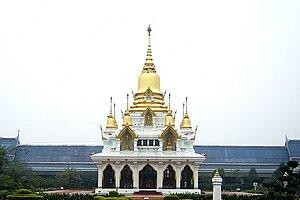 Kushinagar - Wat Thai Buddhist Temple at Kushinagar
