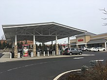A Typical Wawa Gas Station In Willow Grove Pennsylvania