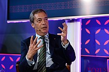 Nigel Farage al Web Summit 2017