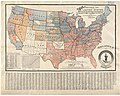 Weller's political map of the United States - showing the plurality vote of the presidential election of 1892, in all states and counties (10294212364).jpg