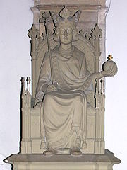 Wenceslaus III of Bohemia statue.jpg