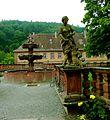 Wertheim Bronnbach Abbey Fountain Sculpture in 2008 309.jpg