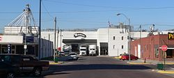 Wimmer's Meat Products plant in downtown West Point