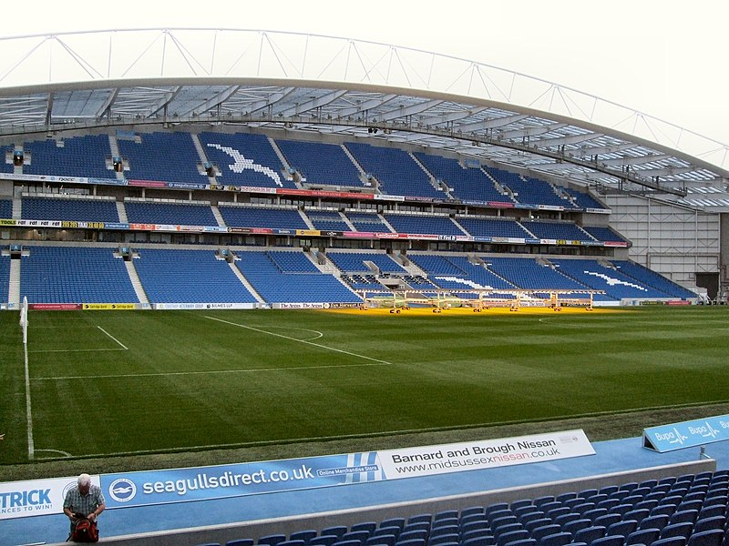 File:West Stand - Amex Stadium - geograph.org.uk - 2634148.jpg
