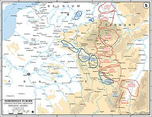 Battle of Lorraine - Western Front, 2 August 1914