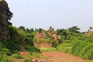 Raisen - Image: Western Structure Of Raisen Fort (2)