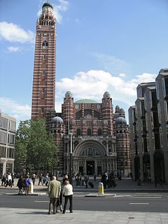Westminster Cathedral Church in London