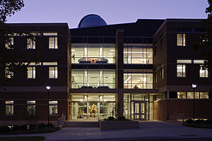 Wheaton College (Illinois) - LEED Gold rated Meyer Science Center houses classrooms, laboratories, greenhouse and rooftop observatory