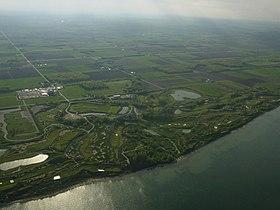 Standort Haven, auf dem sich heute der Whistling Straights golf course befindet