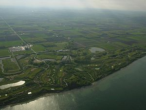 Whistling Straights golf course, arieal view.jpg