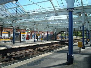 Whitley Bay Metro station - Whitley Bay Metro station