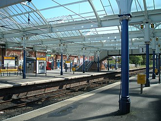 Whitley Bay Metro station - Whitley Bay Metro station