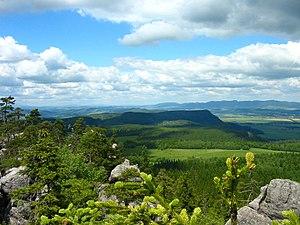 Stołowe Mountains National Park - View from Szczeliniec Wielki