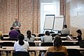Wikimedia Hackathon Vienna 2017-05-19 Humanities, social sciences and wikis 002.jpg