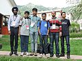 Wikimedians from SAARC countries ,Wikimania 2016.jpg