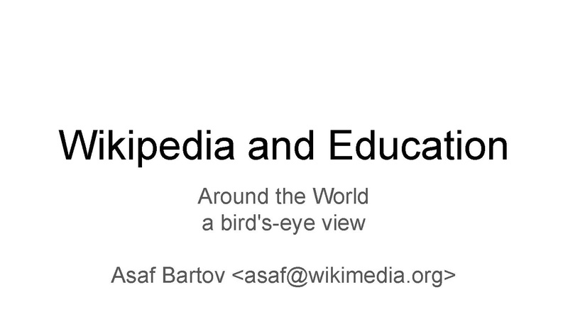 Файл:Wikipedia and Education - 15m - 2016 - with notes.pdf