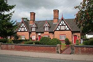 Tollemache Almshouses - Tollemache Almshouses, 118–128 Welsh Row, Nantwich