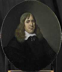 Portrait of Willem Hartigsvelt, Director of the Rotterdam Chamber of the Dutch East India Company, elected 1657