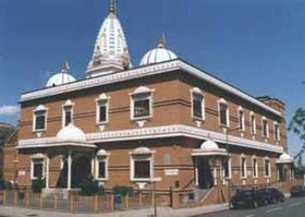The first Swaminarayan temple in London