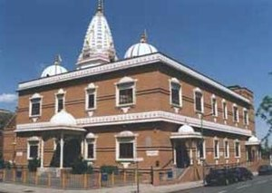 Shri Swaminarayan Mandir, London (Willesden) - The first Swaminarayan temple in London