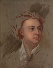 An Unfinished Study of the Head of James Thomson