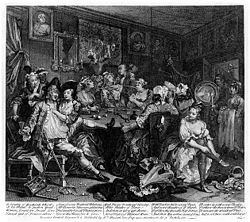 William Hogarth - A Rake's Progress - Plate 3 - The Tavern Scene.jpg