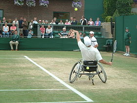 Image illustrative de l'article Tennis en fauteuil roulant